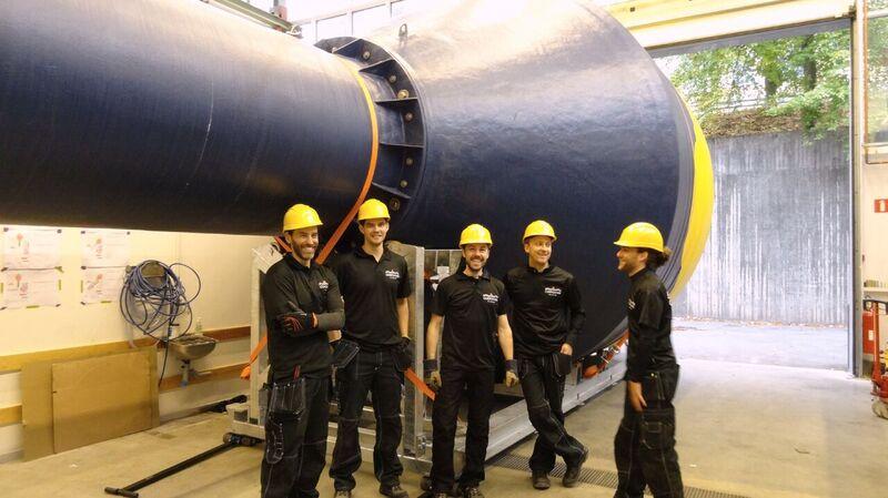 CorPowerteammembersinStockholmintegration&testfacility